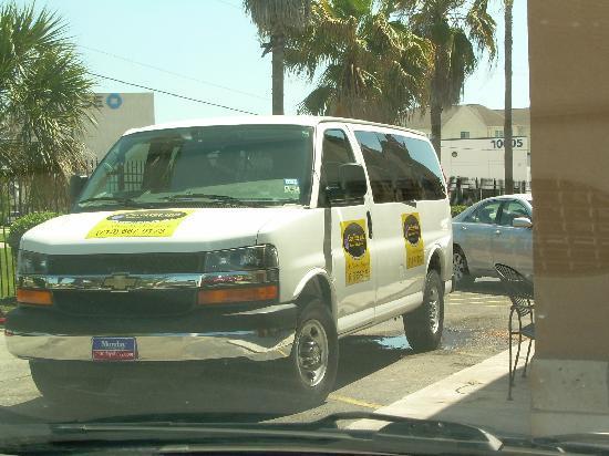 Carefree Inn Houston Medical Center: New Van