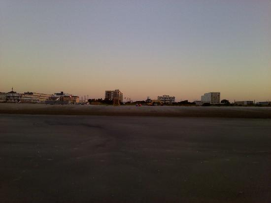 Wildwood Crest view from the beach
