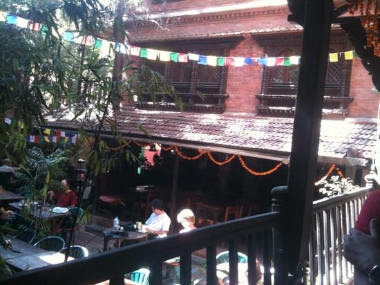 New Orleans Cafe: terrace