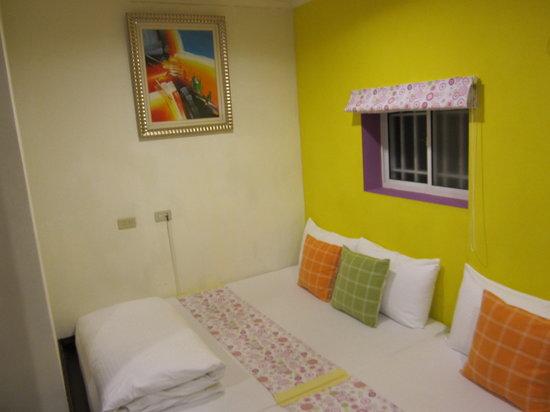 Hualien Sunrise Hostel: The room