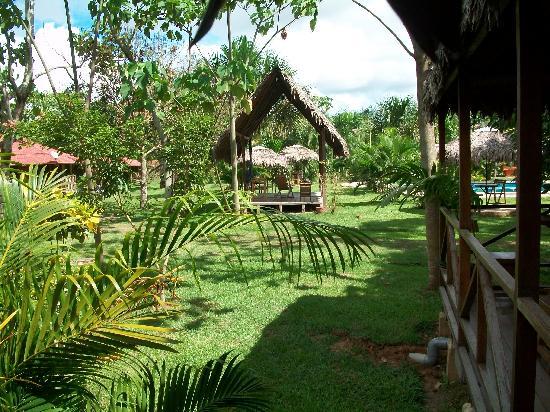 Manish Hotel Ecologico: El hotel tiene un enfoque natural