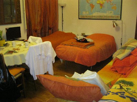 B&B Tre Gigli Firenze : la sala