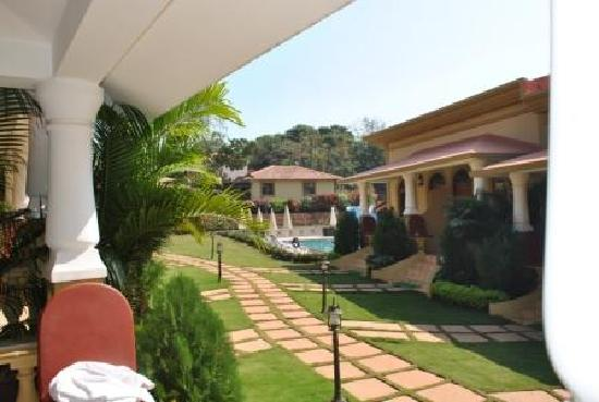 Vagator, Indien: Another view of the resort