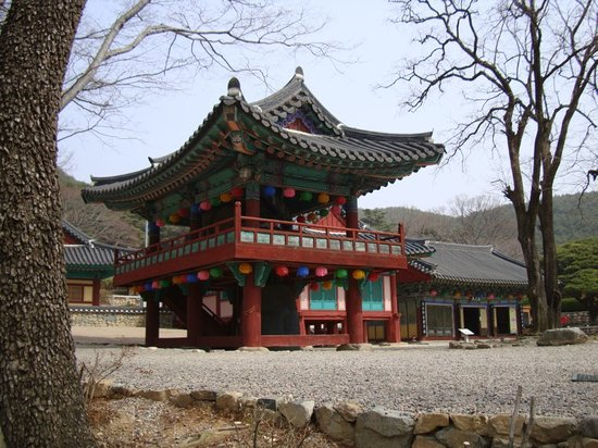 Pohang, South Korea: Bogyeongsa Tempel
