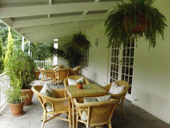 Rosenhof Country House: Terrassenbar