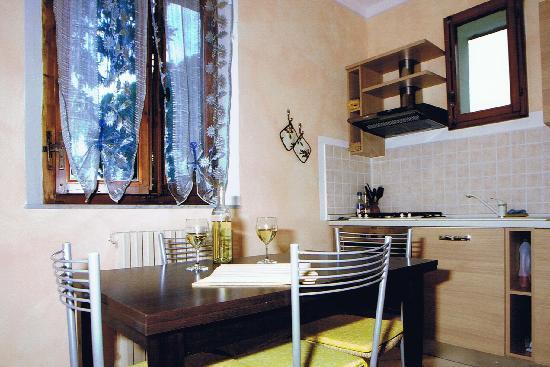affittacamere Le Pinzochere: Cucina