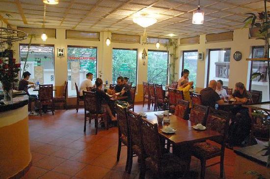 Sapa Global Hotel: restaurent