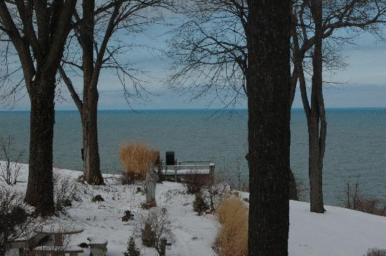 Lake Michigan from South Cliff Inn