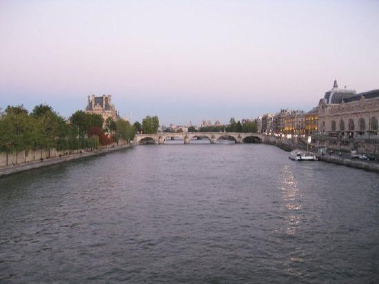 Passerelle Leopold-Sedar-Senghor: vue du pont