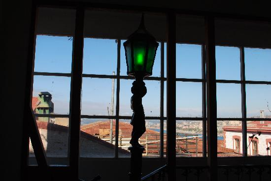 Hostal Acuarela: The hostal lamppost