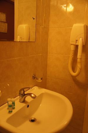 Hotel Nafsika: シャワールーム2