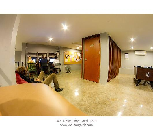 WE Bangkok Hostel: Common area