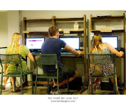 WE Bangkok Hostel: Free internet