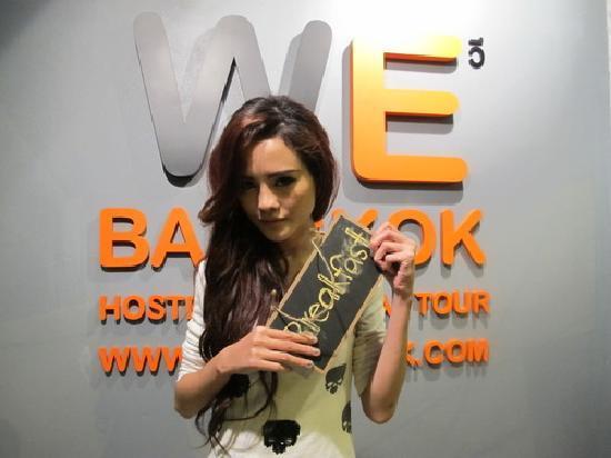 WE Bangkok Hostel: we bangkok logo