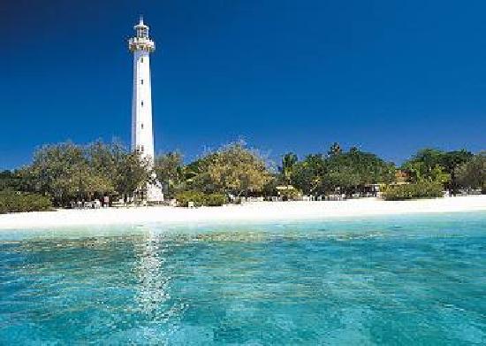 Isla del faro Amedee: Le phare Amedee