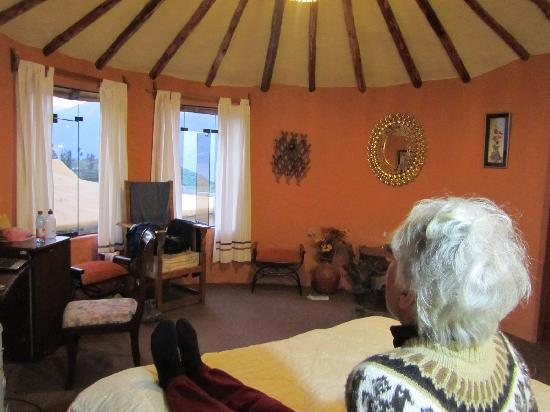 Hotel Kunturwassi Colca: Round room number 8