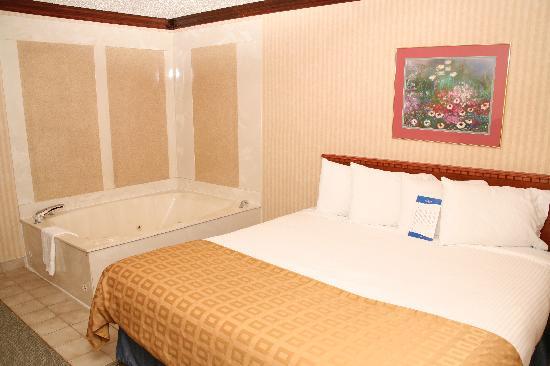 Baymont Inn & Suites Detroit/roseville: Jacuzzi Suite
