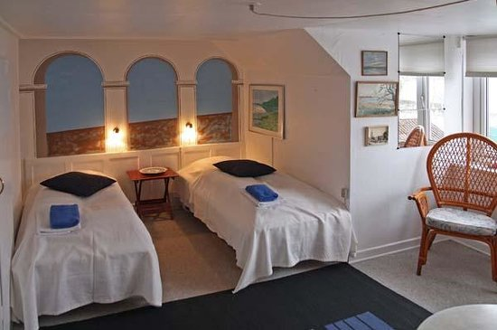 Guldbjerghus: guest room
