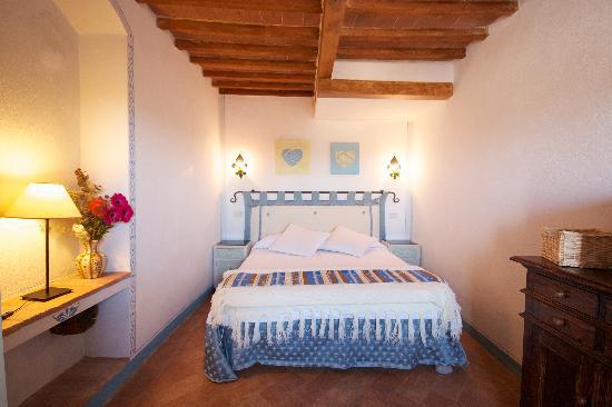 Camere il Giglio: camera azzurra
