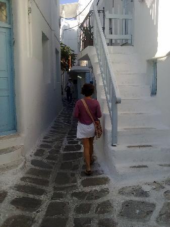 Villa Pinelopi Apartments & Rooms : Mykonos... volviendo a casa...