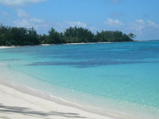 Denis Island, Seychelles: la spiaggia davanti al nostro chalet