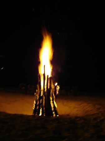 Bonfire on the Beach by Forbes Charter