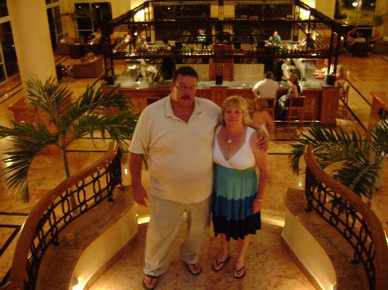 Excellence Riviera Cancun : us at lunch
