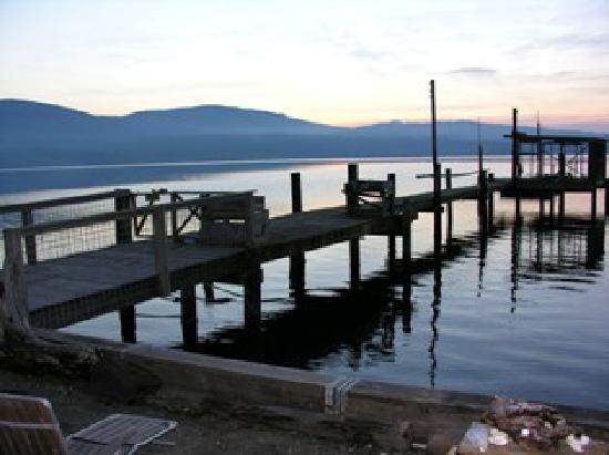 Sunset Marine Resort: The Sequim dock