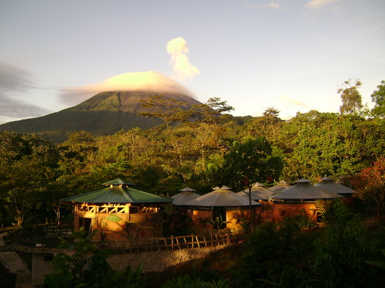 La Fortuna de San Carlos, Costa Rica: The view in our park