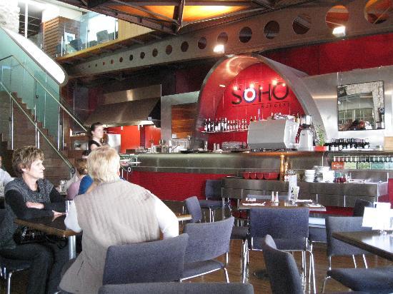 Soho Burgers: Interior of the restaurant