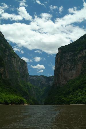 Parque Ecoturistico Canon del Sumidero: Cañon del sumidero 1