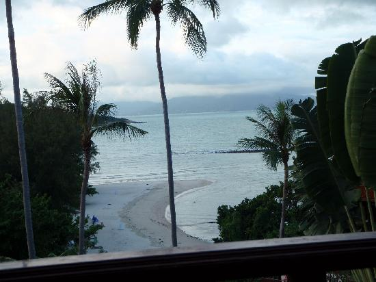 Q Signature Samui Beach Resort: The view from our room.