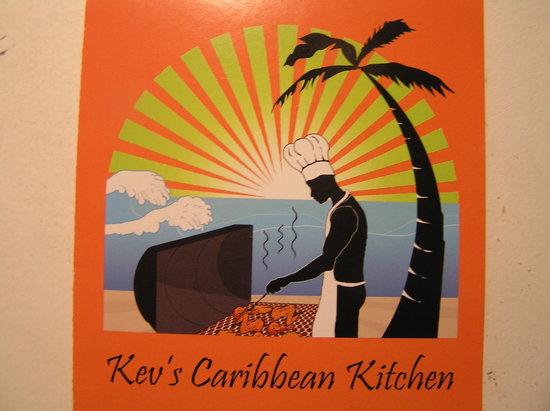 Kev's Caribbean Kitchen : Kev's logo