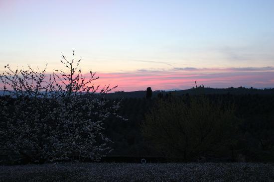 Torre di Ponzano - Chianti area - Tuscany -: sunset