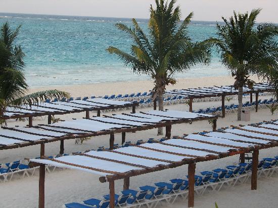 Catalonia Playa Maroma Covered Beach Chairs