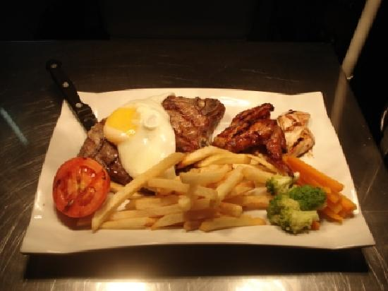 Corkers: Mixed Grill