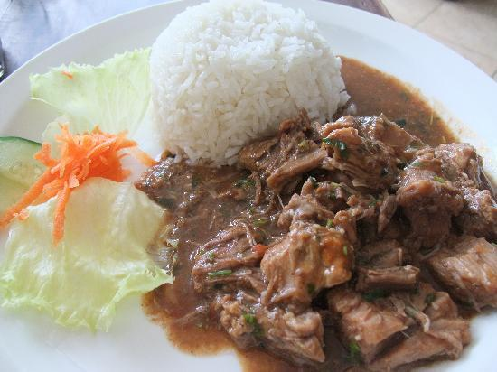 Restaurante Tico y Rico Monteverde: Beef en Salsa