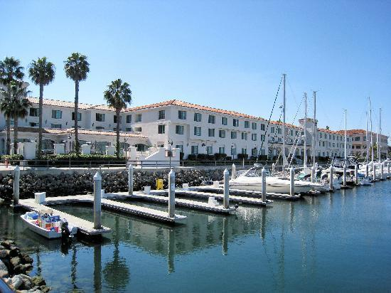 hotel adjacent to marina picture of doubletree by. Black Bedroom Furniture Sets. Home Design Ideas