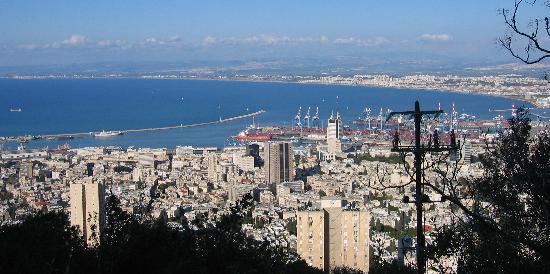Dan Panorama Haifa: Great view from our room