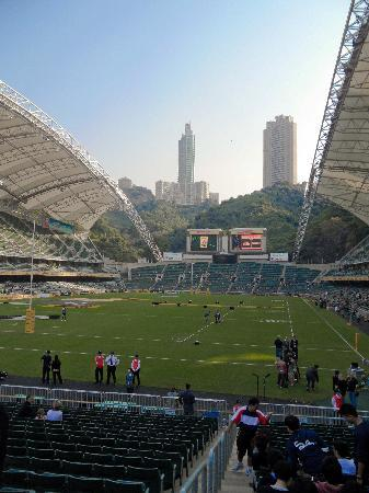 Hong Kong Stadium: View on entry