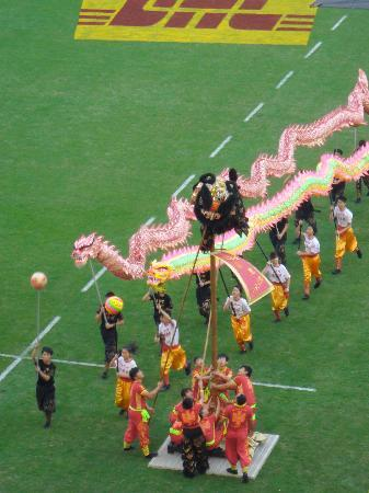 Hong Kong Stadium: Pre-match entertainment