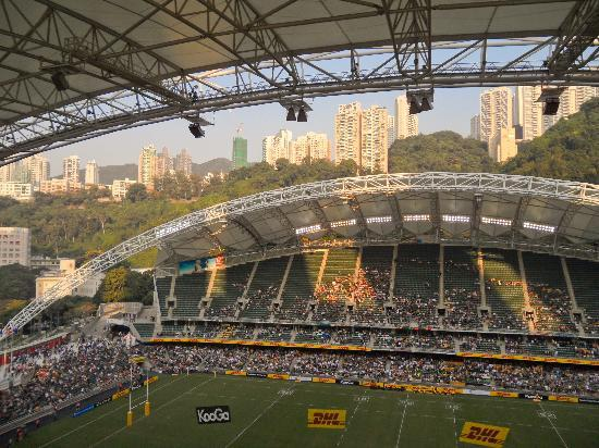 Hong Kong Stadium: Evening light