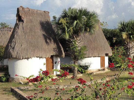 Muna, Mexico: les cabanas