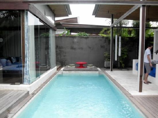 Kiss Bali: Villa pool