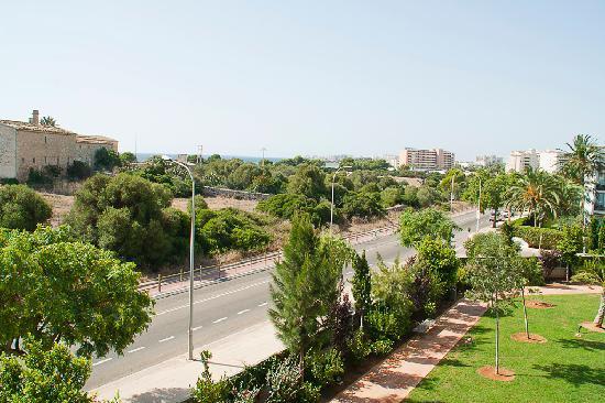 Protur Biomar Gran Hotel & Spa: View of the balcony (junior suite)
