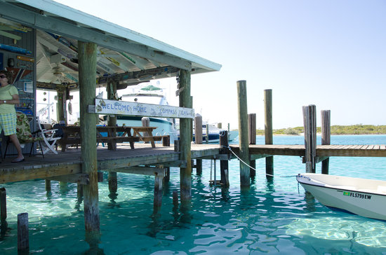 Compass Cay: the mariana 'store' / 'hangout'