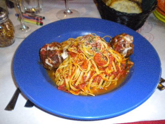 Ciao Mambo: spaghetti and meatballs