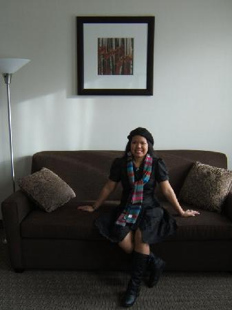 Best Western Plus Baker Street Inn & Convention Centre: me during my stay@ the hotel