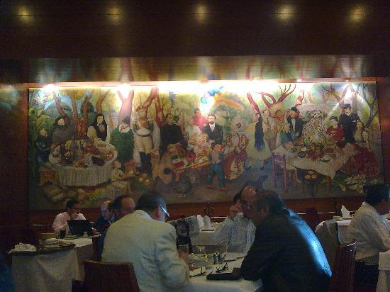 El Cardenal Centro Histórico: El Cardenal. Alameda. Hotel Hilton D.F.