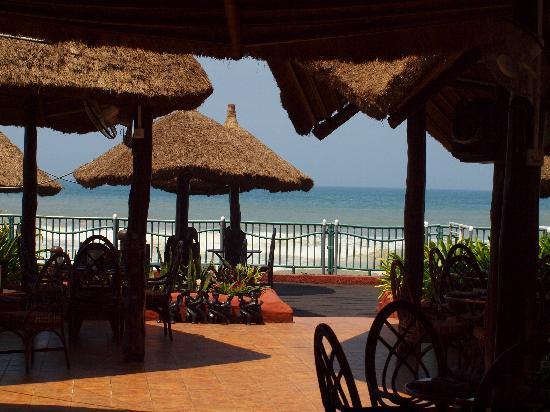 La-Palm Royal Beach Hotel: Ghanaian village La Palm